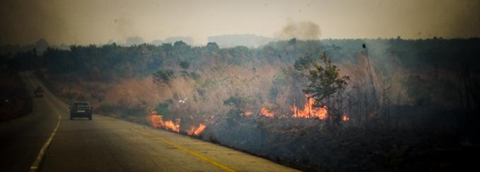 Roads on Fire