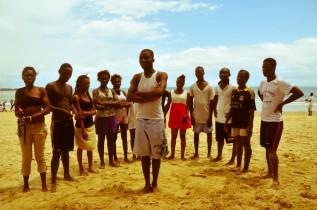 Ngbotima at the beach