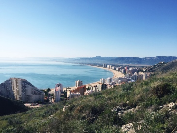 View of Cullera